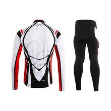 Lixada, Мужская зимняя теплая флисовая велосипедная одежда, набор, ветрозащитная, Pro team, велосипедная Джерси, пальто, куртка с 3D набивными брюками
