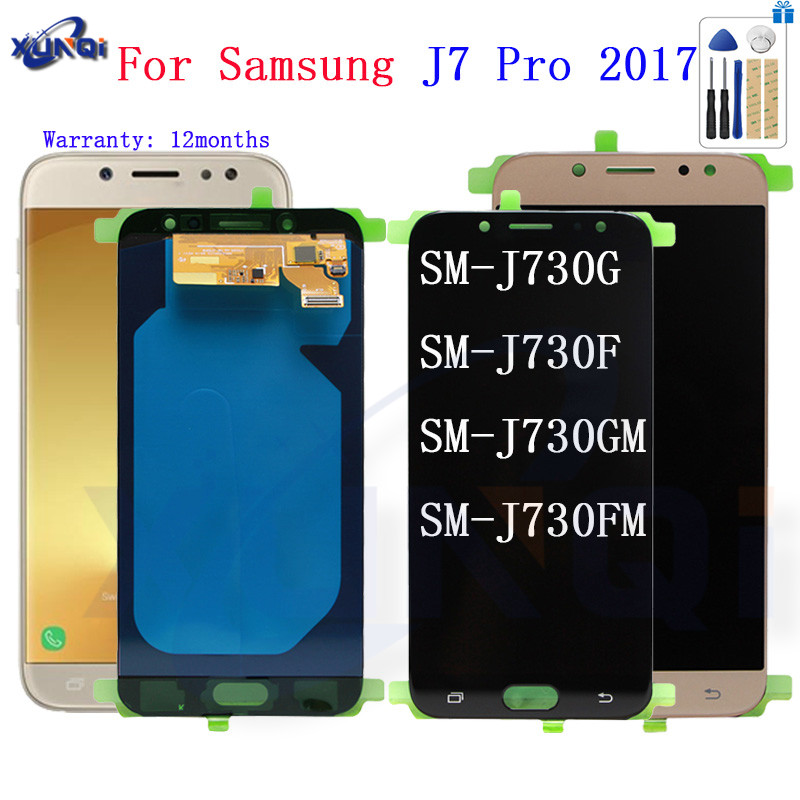 For SAMSUNG <font><b>J7</b></font> <font><b>Pro</b></font> 2017 J730 SM-J730F Display <font><b>LCD</b></font> <font><b>Screen</b></font> <font><b>Replacement</b></font> for Samsung Galaxy <font><b>J7</b></font> <font><b>Pro</b></font> J730G J730GM mobile phone <font><b>lcd</b></font> image
