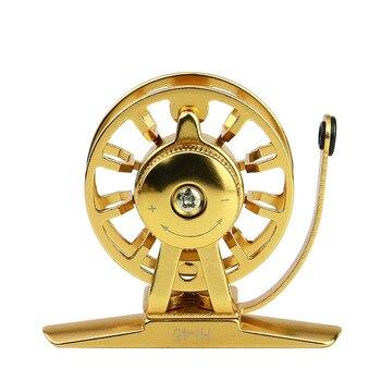 Gorgons Ice Fishing Gear Break Ultralight Smooth 44mm 54mm Ice Fishing Reel Raft Fly Fishing Wheel|Fishing Reels| |  -