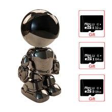1080P Wifi IP Camera Intelligent Auto Tracking Smart Robot CCTV Home Security Surveillance CCTV IP Camera Indoor Baby Monitor