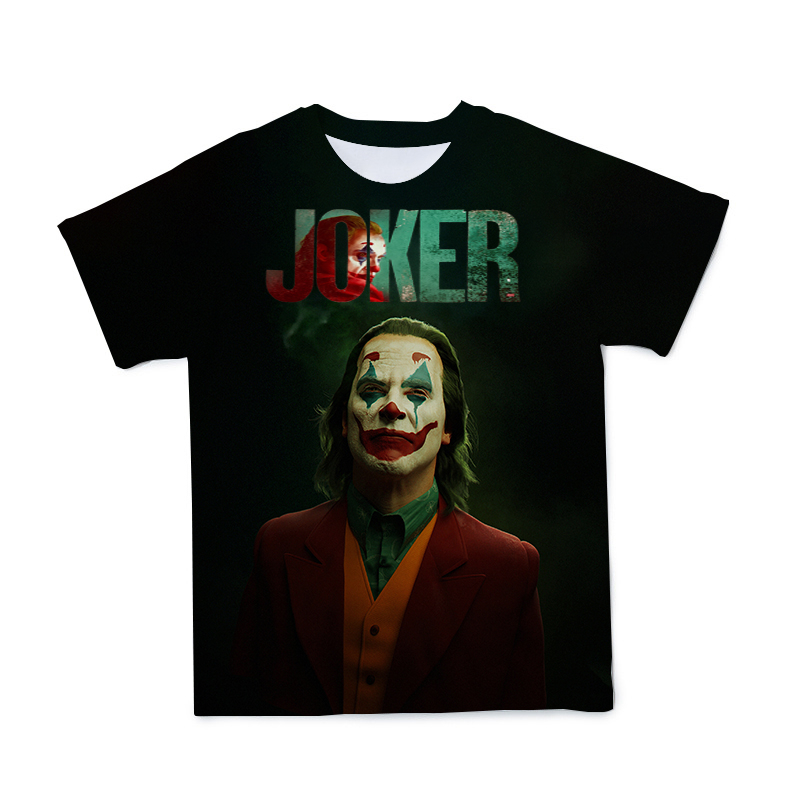 Summer New 3D Clown Men's Character T-shirt Clothing Ugly Grimace Loose And Breathable T-shirt Large Size 110-6XL(Customizable)