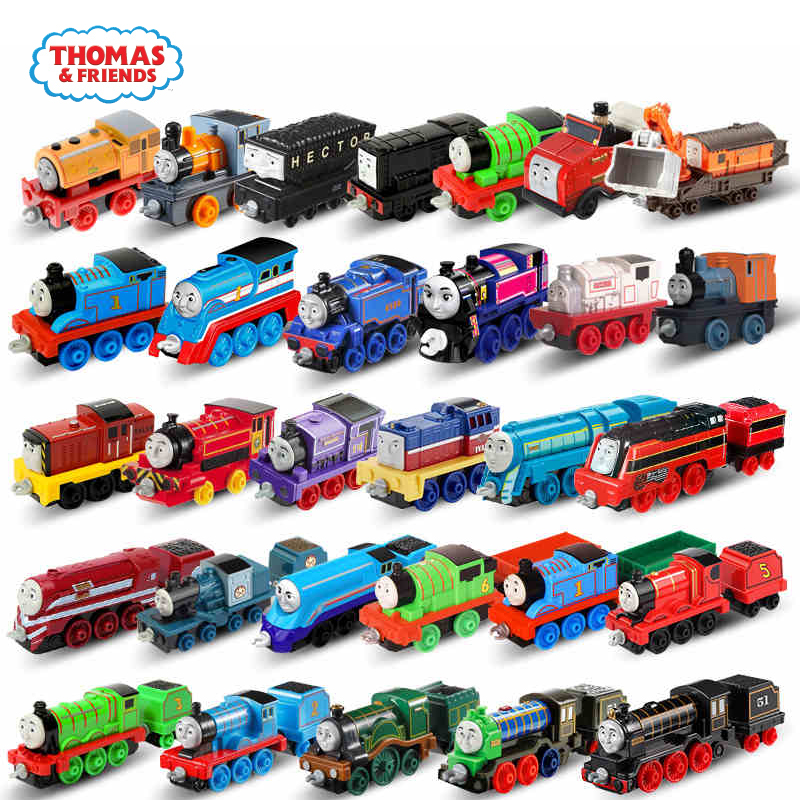 Original Thomas And Friends Cars Trackmaster 1:43 Train Boys Toys Car Hot Toys For Children Model Car Carros Birthday Gift