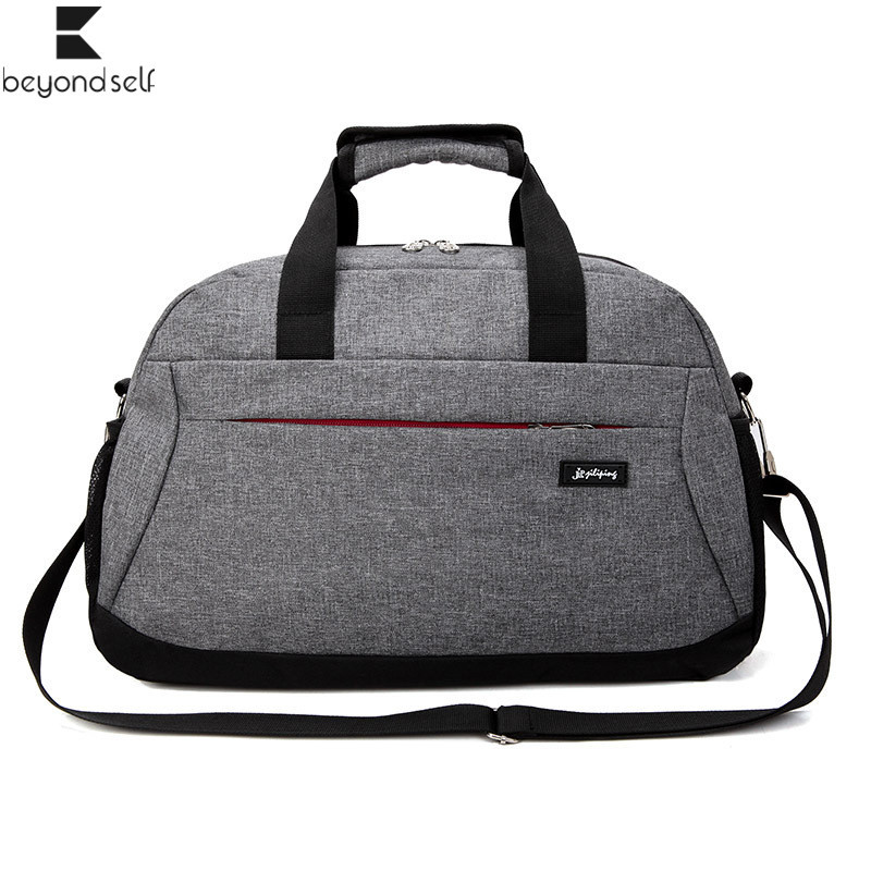 Outdoor Sports Bag For Fitness Women Gym Handbag Men Travel Luggage Bags Nylon Waterproof Training Sportbag Large Capacity 3098