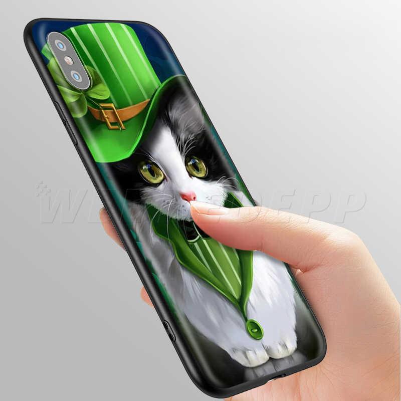 حافظة لهاتف أبل آيفون 11 برو XS Max XR X 8 7 6 6S Plus 5 5s SE