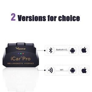 Image 3 - VGATE ICAR PRO WIFI 4.0 OBD2 strumento di scansione auto IOS Android per Bimmercode