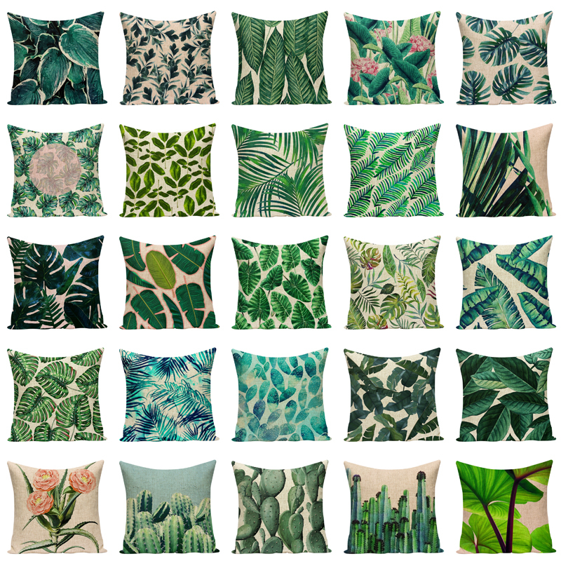 Plant Leaf Cushion Cover Best Children's Lighting & Home Decor Online Store