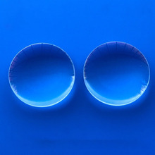 Coated VR lens optical glass focusing lens, 25 focal length, 25 mm diameter double convex lens, customized 1pcs lot 200 170 mm rectangle diy projector fresnel lens focal length 185mm high concentrated support customized free shipping