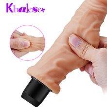 Realistic Big Dildo Vibrator Artificial Big Penis Dildos for