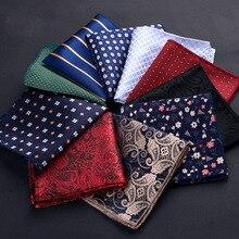 Новинка носовой платок для мужских костюмов маленький карман квадрат для свадьбы шарфы винтаж ткань шарф платки