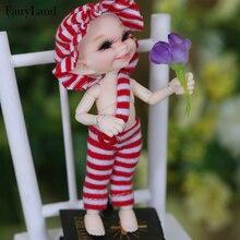 Bonecas realpuki soso bjd, bonecas com frete grátis 1/13, orelhas longas, sorridente, único, brinquedo de alta qualidade para meninas, melhores presentes fl fadas