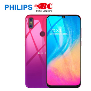 Original New Philips S610 4G + 64GB 6.1-inch mobile phone full screen super long standby Android camera phone Fast shipping