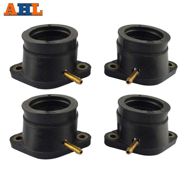 AHL 4pcs קרבורטור כרית פלסטיק לשקע צריכת קרבורטור סעפת ממשק דבק עבור ימאהה XJR1200 XJR1200SP XJR1300 FJR1300