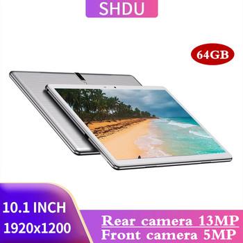 SHDU CG20HD 10 1 Cal tablety Android 10 0 OS 3G 4glte telefon 4GB RAM 64GB ROM 1920 × 1200 GPS WIFI 5000mAh TYPE-C ai-przyspieszenie tanie i dobre opinie 10 1 CN (pochodzenie) ultra cienkie Z dwiema kamerami Tablety dla dzieci Karty tf inne english Rosyjski Spanish SZWEDZKIE