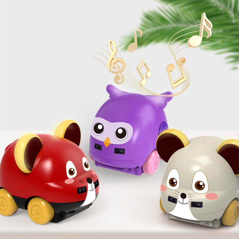 1:32 Cartoon Rat Car Toy Hand Remote Control For Kids Gesture Sensor Following Music Car Toys For Children Xmas Christmas Gifts