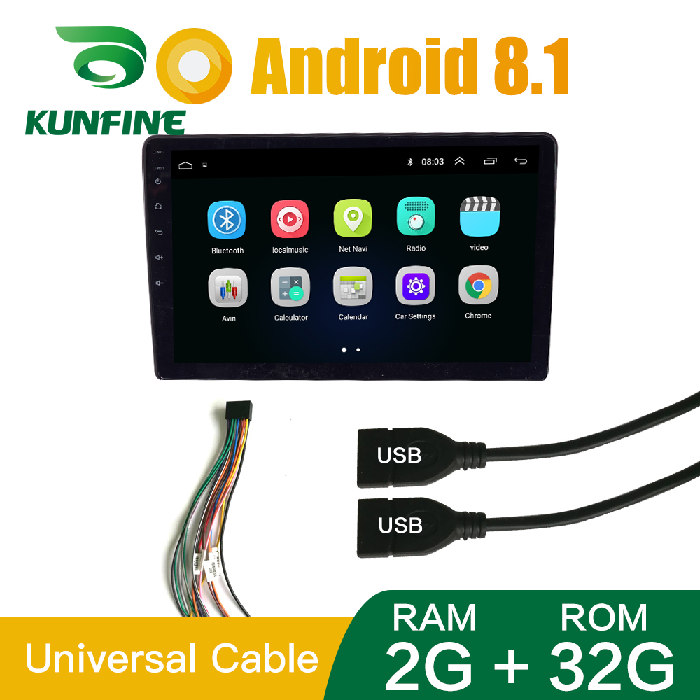 """6.6/"""" Car Stereo Radio MP5 Player 2 DIN Bluetooth Touch USB AUX IN Mirror Link BP"""