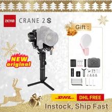 ZHIYUN oficial Crane 2S/COMBO/PRO Gimbals 3-Las cámaras Axis estabilizador para DSLR Sony Canon BMPCC 4K 6K Cámara VS DJI
