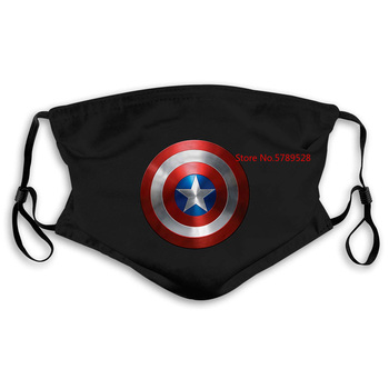 Captain America Men White Marvel The Avengers Comics Novelty Cool Men'S  Mask women kid's PM2.5 ultimate comics captain america