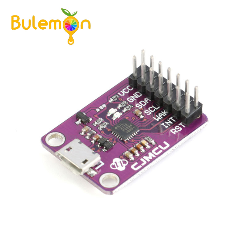 USB To SMBus I2C Communication Module CP2112 Debug Board 2.0 MicroUSB 2112 Evaluation Kit For CCS811 Sensor Module