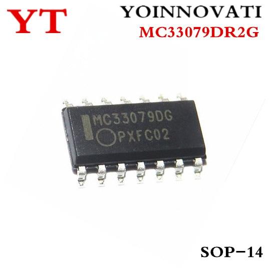5pcs/lot MC33079DR2G MC33079 MC33079D MC33079DG SOP-14 IC Best Quality