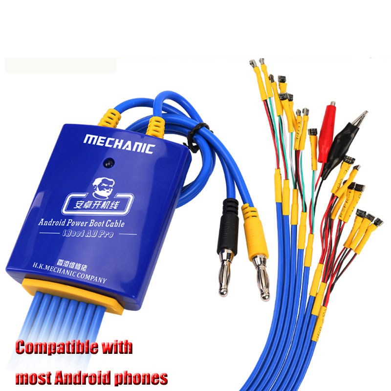 MECHANIC Android One Button Boot Control Line Android Phone Test Cable Power Supply Cable For Huawei Xiaomi Samsung Meizu OPPO