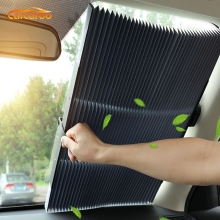 Carcardo Retractable Car Sunshade Window Shade Windshield Front Sun Shades For