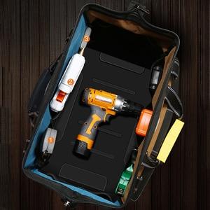 Image 3 - YINLONGDAO Large Capacity Tool Bag, Multi function Electrician Bag, Anti fall and Wear resistant Woodworking Bag