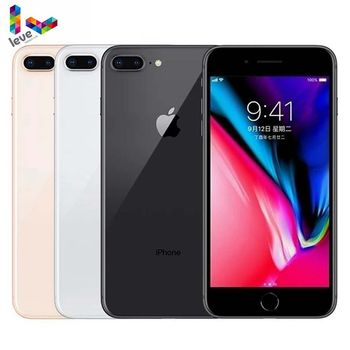 Apple iPhone 8 Plus 5.5 Hexa Core Original iOS 3GB RAM 64/256GB ROM 12MP Fingerprint 2691mAh 4G LTE Unlocked Mobile Phone