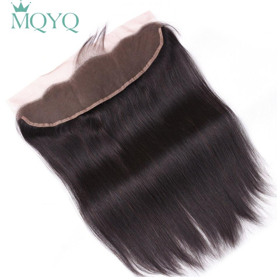 Saphir cheveux oreille à oreille dentelle frontale fermeture 13X4 partie libre avec bébé cheveux brésiliens cheveux humains droits Non Remy cheveux