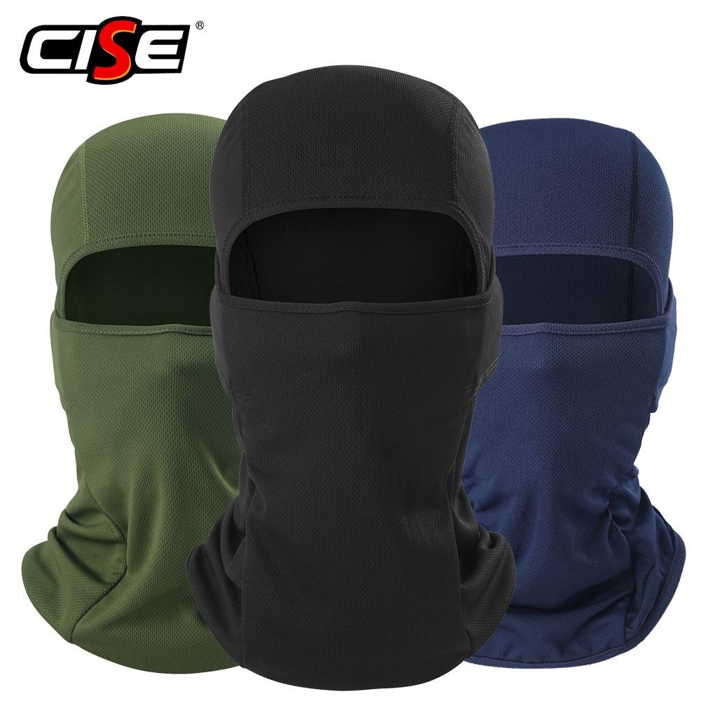 Motorcycle Balaclava Full Face Mask Warmer Windproof Breathable Airsoft Paintball Cycling Ski Biker Shield Anti-UV Men Helmet