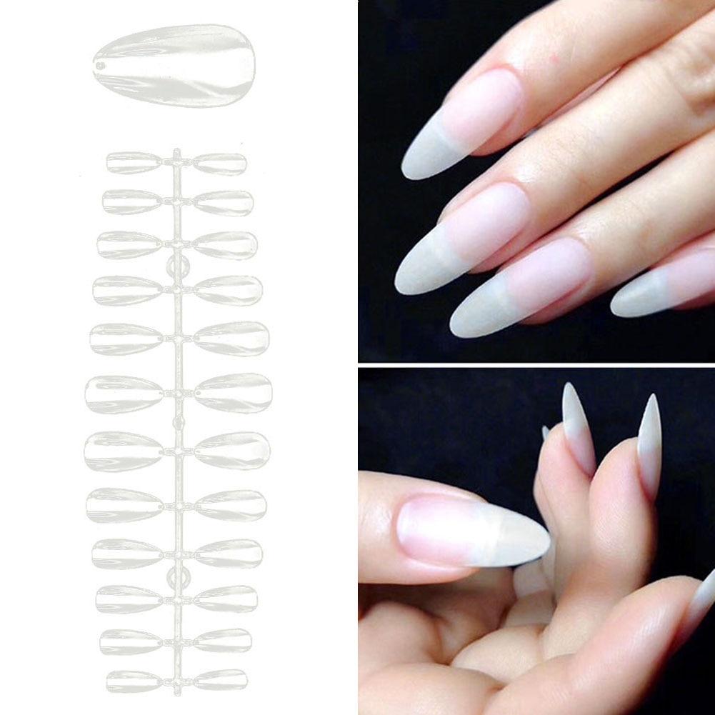 504 pcs prego falso capa completa acrilico gel uv manicure design conjunto de ferramentas diy acrilico