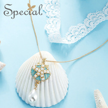 The SPECIAL New Fashion euramerican multi-layer lace neck chain ocean wind necklace for women new collection ,S2024N цена
