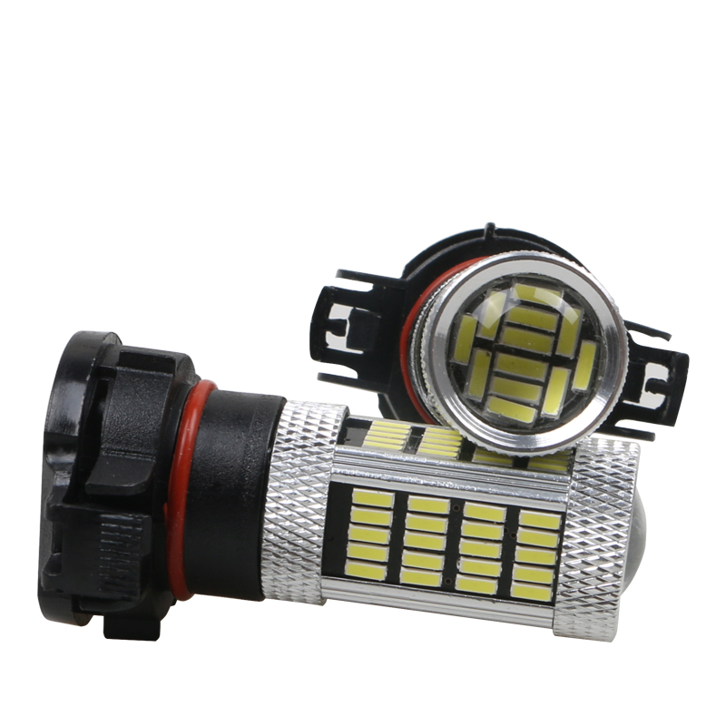 2pcs PSX24W H16 LED PSX24W PSY24W 9009 5301 S19W Fog Lights Auto Bulb LED Car Lamp 6500K White 3000K Yellow Fog Light