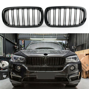 Car accessries Front Kidney Grille Grill Refit Hood Bumper Grills kidney bumper grille for BMW X5 F15 2014 2015 2016 2017
