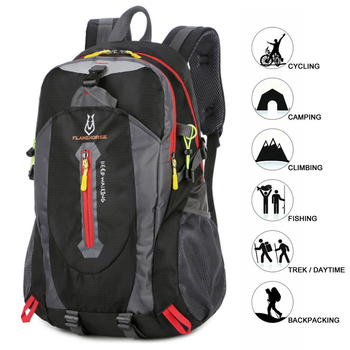 Adisputent Waterproof Climbing Backpack Rucksack 40L Outdoor Sports Bag Travel Backpack Camping Hiking Backpacks Trekking Bags waterproof climbing backpack rucksack outdoor sports bag travel daypack camping hiking mochila women trekking bag for men plecak