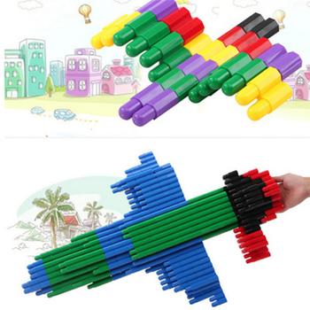 Budynek drewniana zabawka dla dzieci pakowanie klocki wczesne nauczanie puzzle klocki klocki dla dzieci tanie i dobre opinie 2-4 lat 5-7 lat Z tworzywa sztucznego jm0032a1