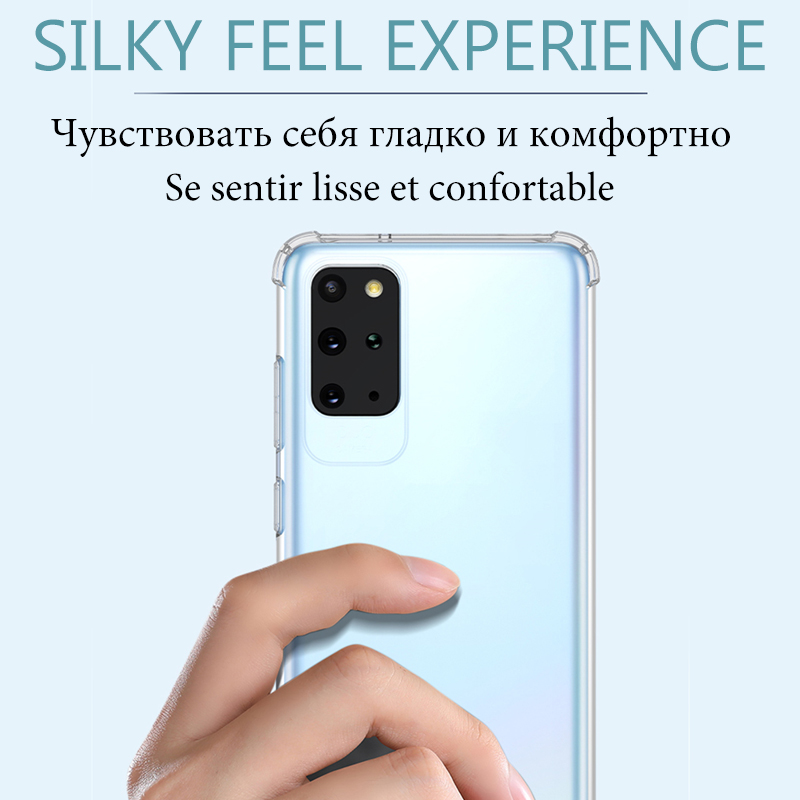 Phone Case For Samsung Galaxy A51 A71 S20 Ultra A50 A70 S10 S8 S9 Note 10 8 9 Plus A20 A10 A11 A21 A41 A81 A91 shockproof cover 2