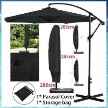 Only Including Cover 280/265/205cm Large Parasol Cover Banana Umbrella Cover Protective Dustproof Courtyard Pool Beach Garden