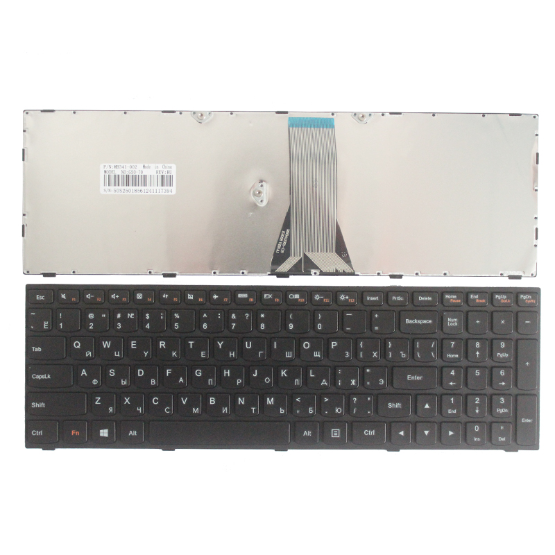 NEW Russian Keyboard FOR LENOVO B50 30 40 70 B50-30 Touch B50-45 B50-70 Z50-70 Z50-75 T6G1 G50 RU Laptop Keyboard