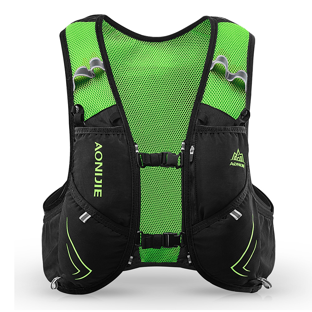 Image 3 - AONIJIE 5L C928 Hydration Pack Backpack Rucksack Bag Vest For 2L Water Bladder Flask Running Marathon Race Sports-in Running Bags from Sports & Entertainment on AliExpress