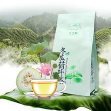 Chinese Tea White Herbal Lotus-Leaf And Rose 40pcs Total-160g Reducing Gourd Blood-Fat