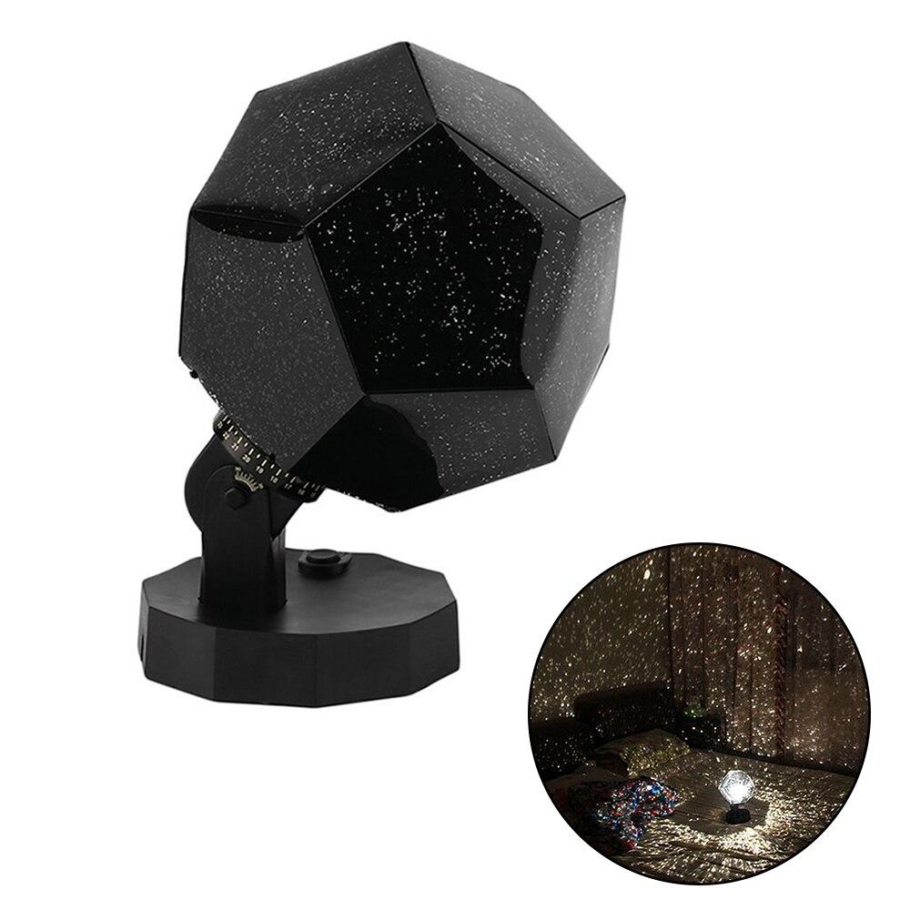 DIY LED Projection Lamp Romantic Planetarium Star Projector Cosmos Light Night Sky Lamp Kids Bedroom Stars Decoration Home Lamp