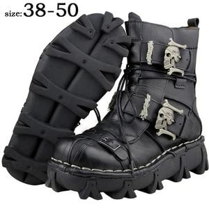 Men's Cowhide Genuine Leather