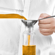 Funnel-Set Transmission-Fluid Long-Handles Stainless-Steel Small Salt 3pcs Oils Adding