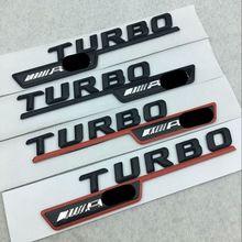 Emblem Badge Car-Stickers Auto-Fender-Modification Turbo Amg Mercedes-Benz Body-Decals