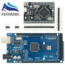 MEGA2560 MEGA 2560 R3 (ATmega2560-16AU CH340G) Pro mini MEGA2560 AVR płyta USB pokładzie rozwoju MEGA2560 z kabel do arduino
