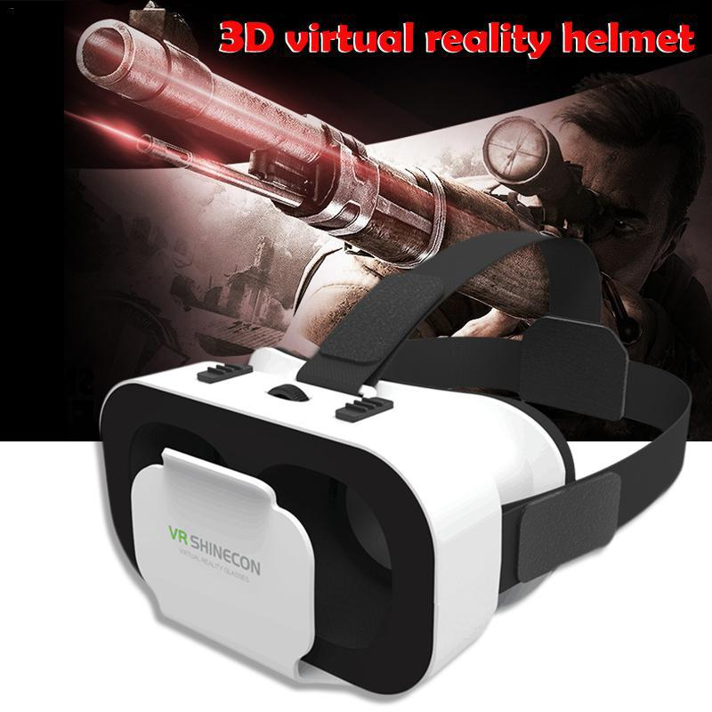 Para 4.7-6.0 polegadas android ios telefones inteligentes vr realidade virtual 3d óculos caixa vr shinecon g05a 3d vr óculos fone de ouvido r57
