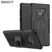 For Samsung Galaxy Note 9 Case Silicone Armor Hard PC Phone Cover BSNOVT