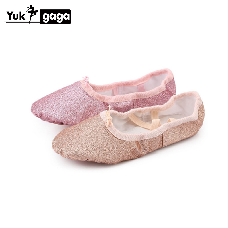 A17a PU Top Gold Soft Indian Women's Belly Dance Shoes Belly Dance Ballet Shoes Kids For Girls Women