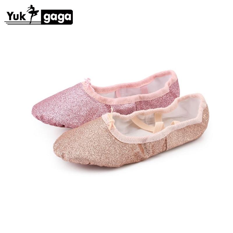 A17a PU Top Gold Soft Indian Women's Belly Dance Shoes Belly Dance Ballet Shoes Kids For Girls Women