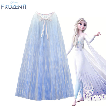 Frozen2 Шелковый плащ принцессы для костюмированной вечеринки; Платье Аиши; Длинное Сетчатое платье для девочек на день рождения; Лучший подар...